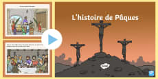 The Easter Story PowerPoint French