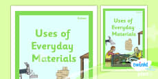 PlanIt - Science Year 2 - Uses of Everyday Materials Unit Book Cover