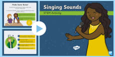 Singing Sounds STEM PowerPoint
