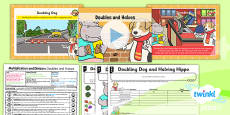 PlanIt Y1 Multiplication and Division Lesson Pack Doubles and Halves (3)