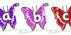 Phoneme Set on Emperor Butterflies