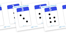 0-20 Number Cards with Objects