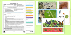 EYFS Caterpillar Life Cycle Dance Adult Input Plan and Resource Pack