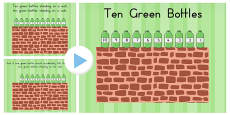 Australia - Ten Green Bottle Story PowerPoint