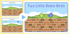 Two Little Dickie Birds PowerPoint