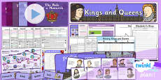 History: Kings and Queens KS1 Unit Pack