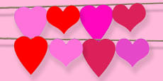 Heart Shape Bunting