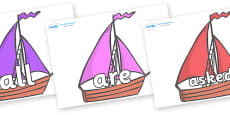 Tricky Words on Sailing Boats to Support Teaching on Where the Wild Things Are