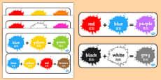 Colour Mixing Pack Mandarin Chinese Translation