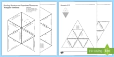 Bonding, Structure and Properties of Substances Tarsia Triangular Dominoes