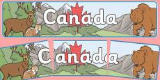 Canada Display Banner