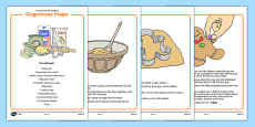 Gingerbread People Differentiated Instructions Activity