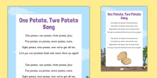 One Potato, Two Potato Song