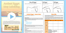 Ancient Egypt Map Lesson