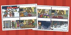 Babushka Story Sequencing Cards