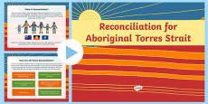 Australia - Aboriginal and Torres Strait Islanders Studies Reconciliation Reflection PowerPoint