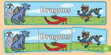 Dragons Topic Display Banner