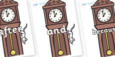 Connectives on Clocks
