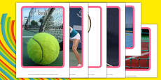 The Olympics Tennis Display Photos