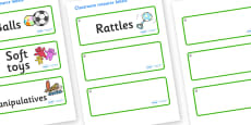 Hazel Tree Themed Editable Additional Resource Labels