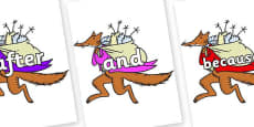 Connectives on Mr Fox to Support Teaching on Fantastic Mr Fox