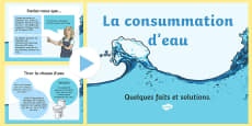 Water Usage and Solutions PowerPoint French