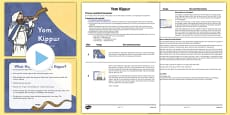Yom Kippur Assembly PowerPoint and Script Pack