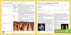 * NEW * South Asian Dance Activity Pack