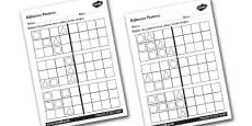 Reflective Patterns Worksheets