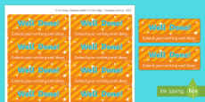 Extend Your Writing and Ideas Stickers