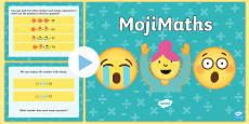 LKS2 MojiMaths PowerPoint English