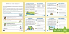60-Second Reads: Places Activity Cards