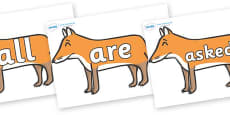 Tricky Words on Foxes