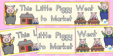 Australia - This Little Piggy Display Banner