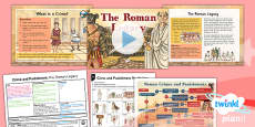 PlanIt - History LKS2 - Crime and Punishment Lesson 1: The Roman Legacy Lesson Pack