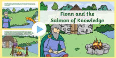 Fionn and the Salmon of Knowledge PowerPoint Story