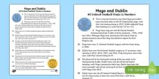GAA History of Dublin v  Mayo Fact File