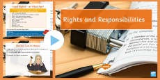 Rights and Responsibilities Lesson Pack