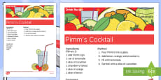 Elderly Care St George's Day Alcoholic Drink Recipe
