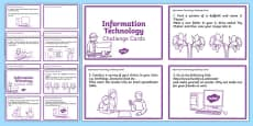 General ICT Task Cards