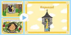Rapunzel PowerPoint German / Deutsch