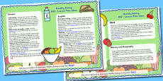 Healthy Eating Lesson Plan Ideas KS2