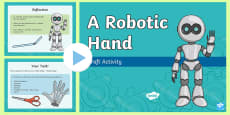 Robotic Hand PowerPoint