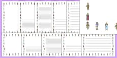 The Loaves and Fishes Page Borders