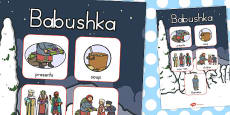 Australia - Babushka Vocabulary Poster