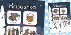 Australia - Babushka Vocabulary Poster