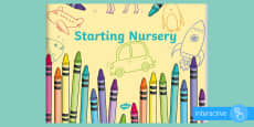 EYFS Starting Nursery eBook