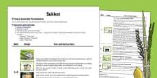 Sukkot Assembly Script