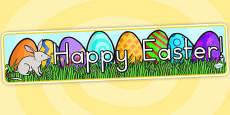 Easter Banner - Australia