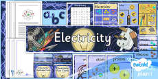 PlanIt - Science Year 4 - Electricity Additional Resources